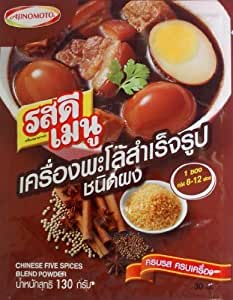Ajinomoto rosdee menu chinese five spices for 7 spices asian cuisine