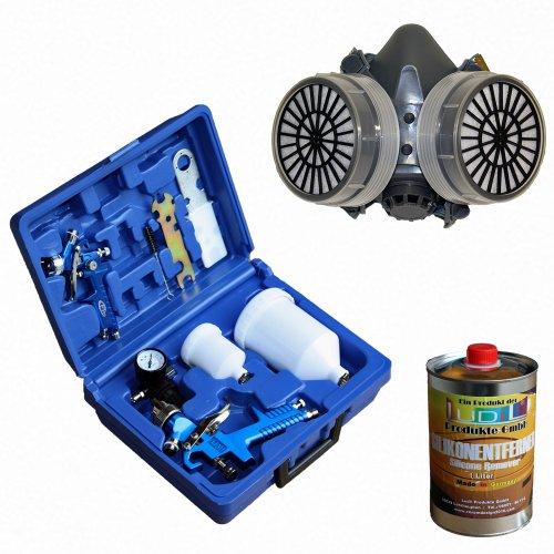 tectake-2x-pistolas-de-pintar-pulverizadora-de-pintura-hvlp-17-10-mm-maletin-manometro-05-ltr-remove