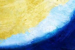 Maxwell Dickson ''Waves'' Art Canvas Print Wall Pop Art Abstract Artwork
