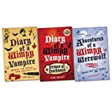 Tim Collins Diary of a Wimpy Vampire Trio, 3 books, RRP £23.97 (Diary Of A Wimpy Vampire; Diary of a Wimpy Vampire: Prince of Dorkness; Adventures of a Wimpy Werewolf: Hairy But Not Scary).