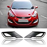 HAMMER Hyundai Elantra 11-12 Daytime Running Lights Car LED DRL Daylight 2-pc Set