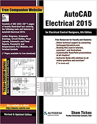 AutoCAD Electrical 2015 for Electrical Control Designers