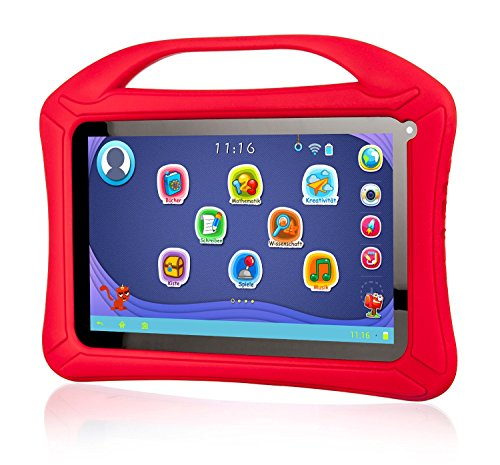 "Xoro KidsPAD 903 Tablette PC (Rockchip RK3126, 1 Go de RAM, 8 Go HDD, Mali-400 MP2, Android 5.1) 9"" (22,8 cm) Rouge - rouge"