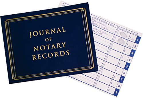 Notary Journal - 140 Pages with 600 Entries - All States