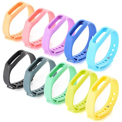 xcsource-10pcs-replacement-bracelet-wrist-strap-wrist-band-w-clasp-per-xiaomi-mi-band-bracelet-bracc