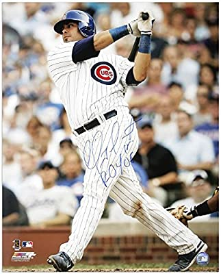 """Geovany Soto Chicago Cubs Autographed 16"""" x 20"""" Looking Photograph with ROY 08 Inscription - Fanatics Authentic Certified"""