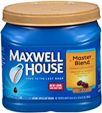 Maxwell House Master Blend Light Roast Ground Coffee 306 Ounce