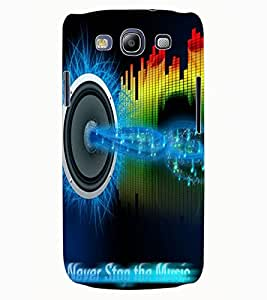 ColourCraft Music Design Back Case Cover for SAMSUNG GALAXY S3 NEO I9300I