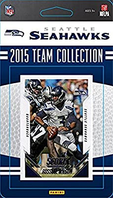 Seattle Seahawks 2015 Score Factory sealed 12 Card Limited Edition NFL Team Set