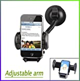The Universal Adjustable in Car Phone Holder Cradle Windscreen Suction Mount for iPhone 3GS 4S 4G Samsung Galaxy S2 i9100 i777 D710 HTC SERIES NEW