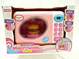 Kidoloop Kitchen Appliance Microwave Oven Toy With Light & Sound Play set for Little Chef