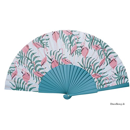 flamingo-blue-hand-fan-by-duvelleroy-1827-made-in-france