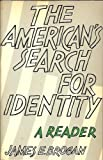 img - for The American's search for identity: A reader book / textbook / text book