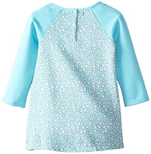 887847666992 - Nannette Baby Girls' 2 Piece Fleece Legging Set with Mock Welt Pockets, Blue, 12 Months carousel main 1