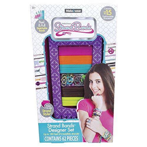 "The Bridge Direct Strand Bands Designer ""Strand Styler"" Hippie Chic Purple Toy - 1"