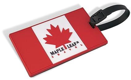 Canada Luggage Tag Canada Flag Luggage Tag