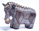 Pottery animal figurines classic collection [ wild boar ( gold ) 604W ]