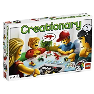 LEGO board game: Creationary!