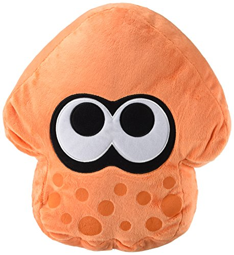 Little Buddy - USA Splatoon serie di peluche, arancione Splatoon Calamaro Cuscino 14 ""
