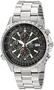"Casio Men's EF527D-1AV ""Edifice"" Stainless Steel Multi-Function Watch"
