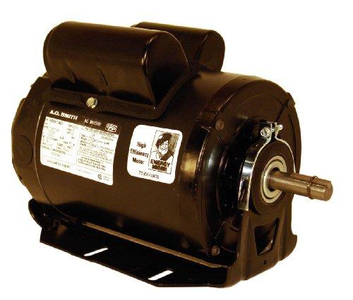 A.O. Smith C621 1-1/2 Hp, 1725 Rpm, 208-230/115 Volts, 56 Frame, Odp Enclosure, Ball Bearing Capacitor Start Motor
