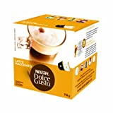 Nescafé Dolce Gusto for Nescafé Dolce Gusto Brewers, Latte Macchiato, 16 Count (Pack of 3)