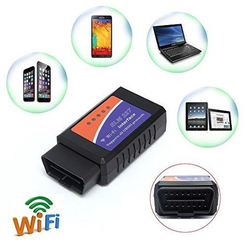 Best Offer Toontor ELM327 WIFI Wireless OBD2 OBDII Car Auto