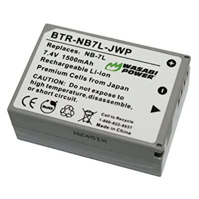 Wasabi Power Battery for Canon PowerShot G11