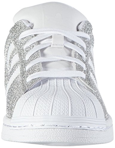 adidas superstar glitzer glitter bling silber