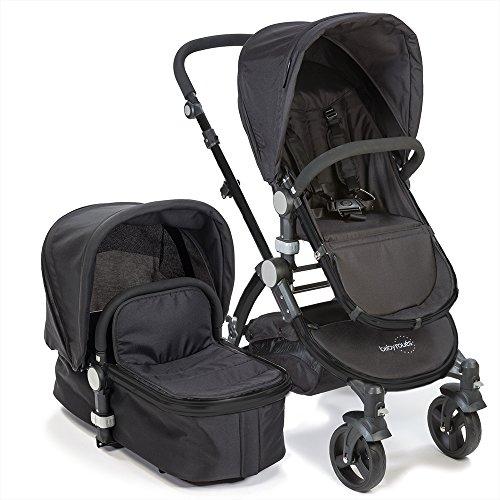 Babyroues Letour ll Stroller, Black - 1