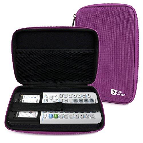 Hard EVA 'Shell' Case with Dual Zips in Purple for Texas Instruments TI-83 Premium, TI 82 Advanced & TI-NSPIRE CX Scientific Calculators - by DURAGADGET (Ti Scientific Calculator Purple compare prices)