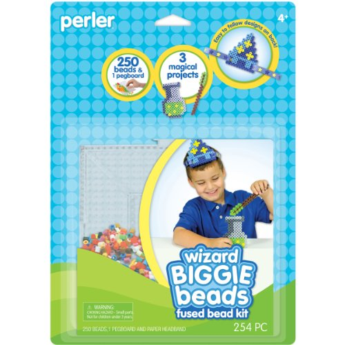 Perler Beads Biggie Fused Bead Kit, Wizard - 1