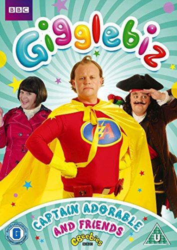 Gigglebiz: Captain Adorable & Friends (CBEEBIES) [DVD]