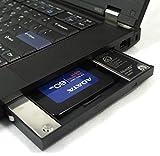 Nimitz 12.7mm厚のSATA光学ドライブを搭載した Lenovo ThinkpadT420 T430 T510 T520 T530 W510 W520 W530 などの光学ドライブをHDDやSSDに置き換えるためのキット