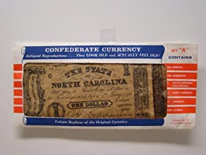 ANTIQUED REPRODUCTIONS OF CONFEDERATE CURRENCY (SET A)