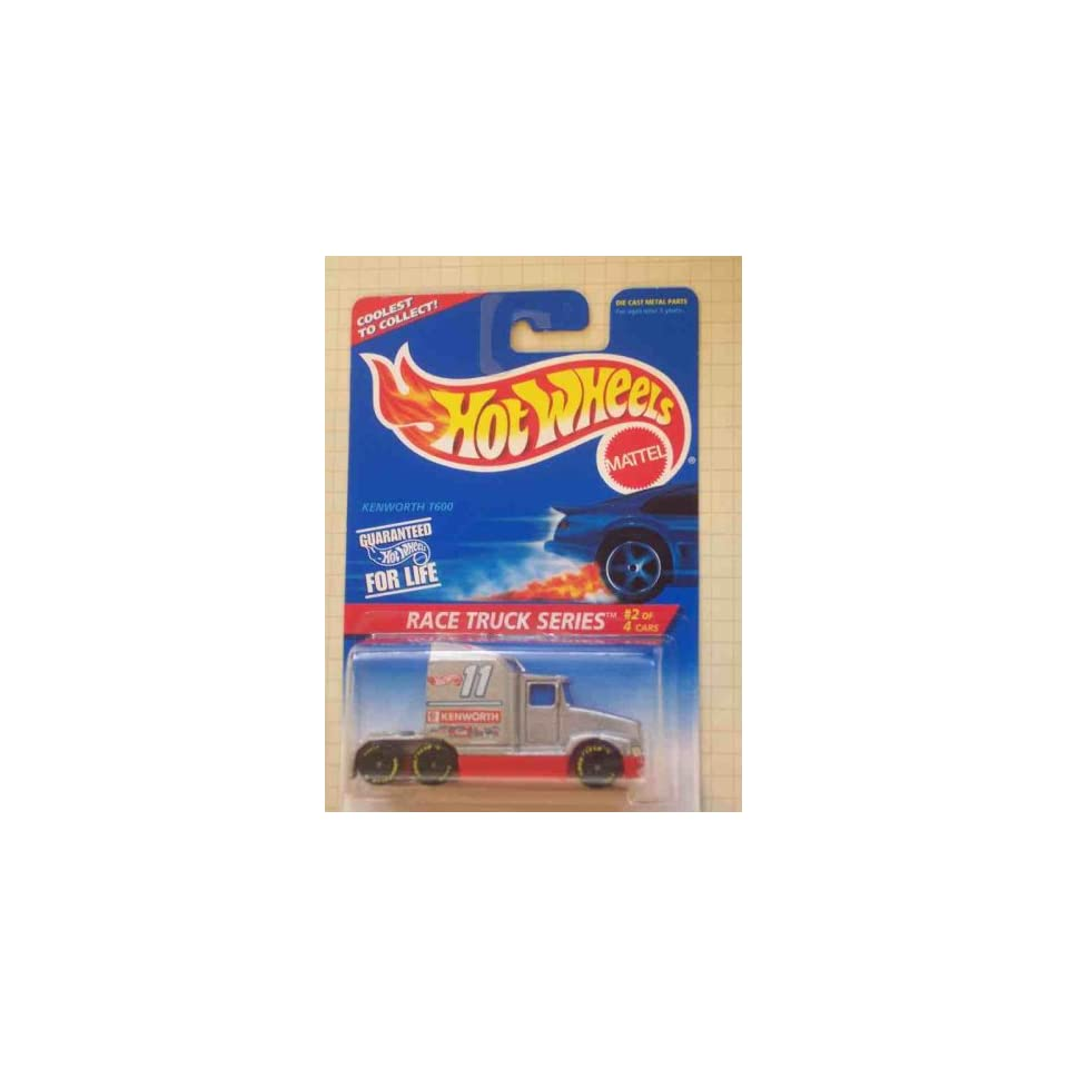 Race Truck Series #2 Kenworth T600 1996 #381 Collectible Collector Car Mattel Hot Wheels 164 Scale