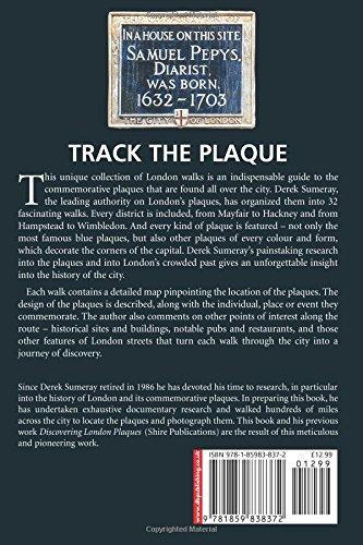 Track the Plaque: 32 Walks Around London's Commemorative Plaques