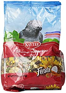 Kaytee Fiesta Food for Parrots, 2-1/2-Pound Bag