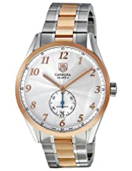 Bargain!! Tag Heuer Men's WAS2151.BD0734 Carrera Heritage Silver Dial Dress Watch Special offer