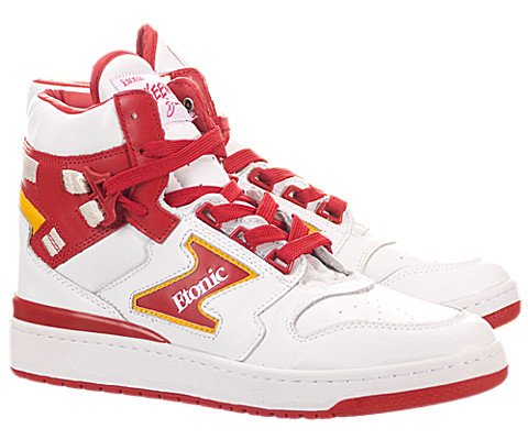 Etonic Men's Dream 1 Sneakers, White/Red, 10 D(M) US