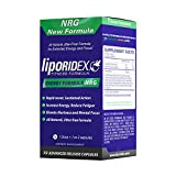 LIPORIDEX NRG, Energizing Jitter-Free Focus & Energy Supplement, Brain Stimulant, Focus and Energy Booster Supplement to reduce Fatigue. 100% Money back Guarantee - 36 energy pills