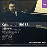 Eiges: Piano Music