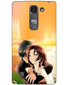MobileGabbar LG K10 Back Cover Plastic Hard Case