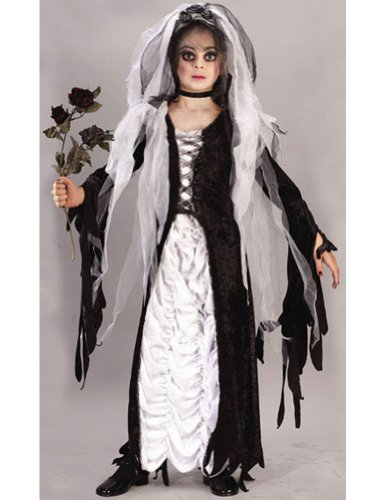 Bride Of Darkness Ch Sm Kids Girls Costume