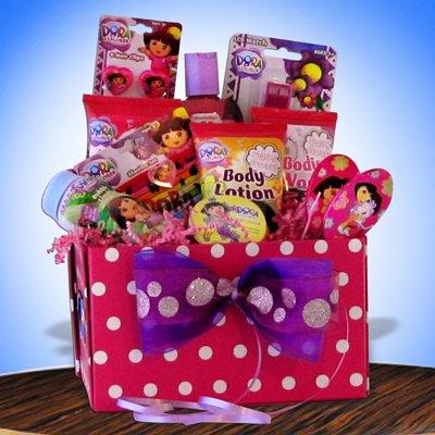 Disney Dora the Explorer Christmas Gift Baskets, Birthday, Get Well Gifts for Kids Under 10