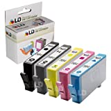 LD © Remanufactured Replacements for Hewlett Packard (HP) 564XL Set of 5 High Yield Inkjet Cartridges Includes: 1 CN684WN Black, 1 CB322WN Photo Black, 1 CB323WN Cyan, 1 CB324WN Magenta, and 1 CB325WN Yellow ~ LD Products