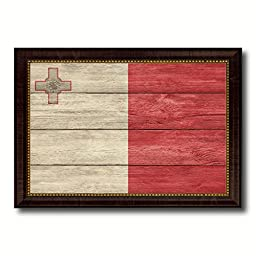 Malta National Textured Flag Art Country Custom Picture Frame office Wall Home Decor Gift Ideas, 15\