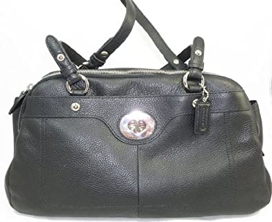 Coach Penelope Leather Satchel F16529 Black