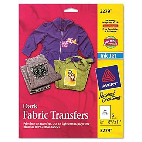 Avery® - Personal Creations Inkjet T-Shirt Transfer, 8-1/2