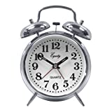 Equity By La Crosse Analog Twin Bell Alarm Clock